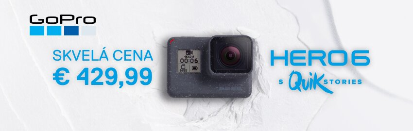 GoPro Hero 6 za super cenu