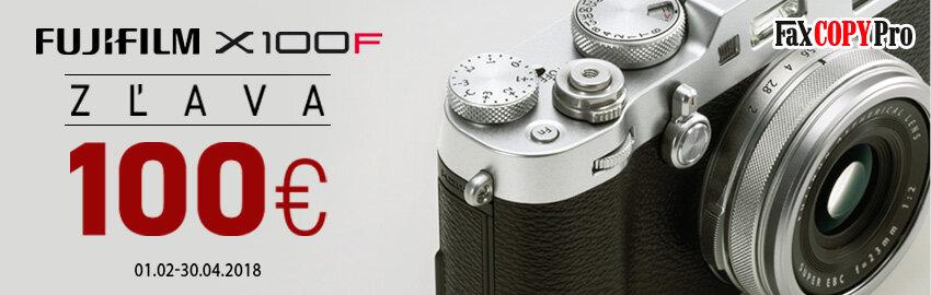 Fujifilm X-100F - zľava 100€