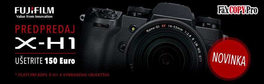 Ušetrite pri kúpe Fujifilm X-H1