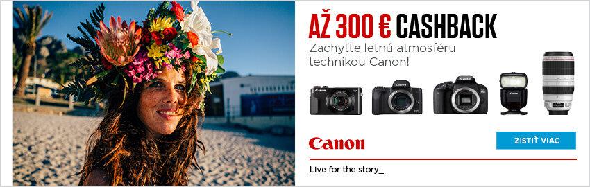 Canon letný cashback