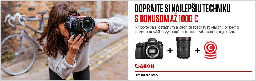 Canon bonus až 1000€