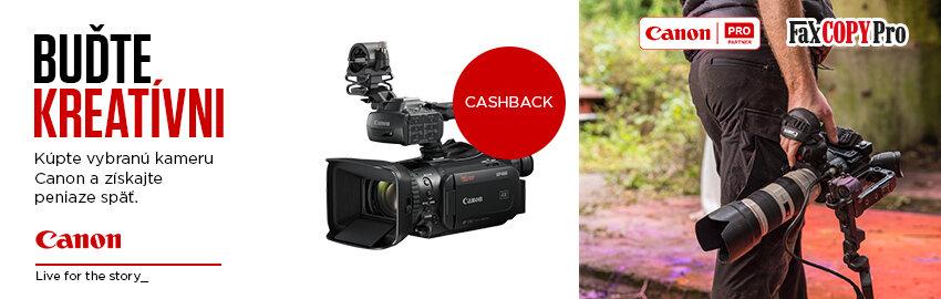 Instant Cashback na kamery Canon
