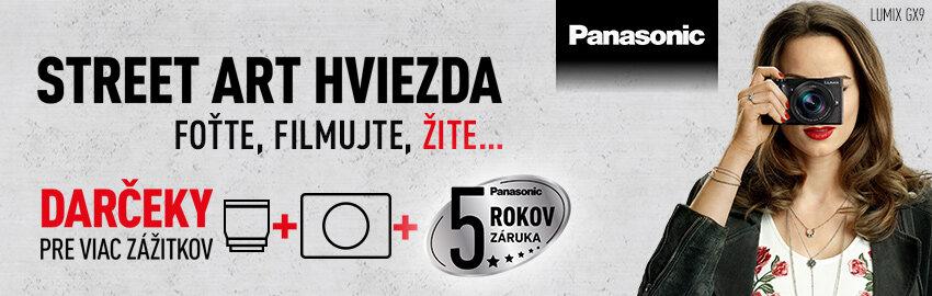 Panasonic darčeky a 5-ročná záruka zadarmo