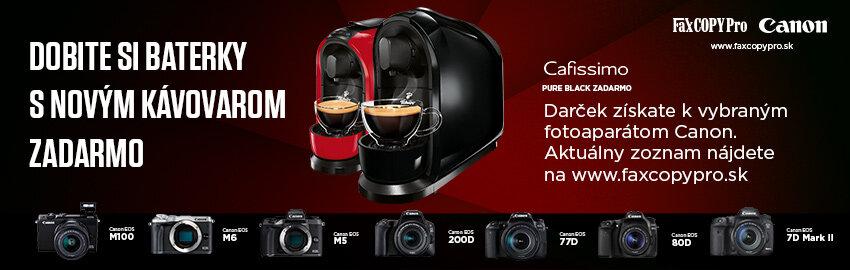 Získajte kávovar ZADARMO
