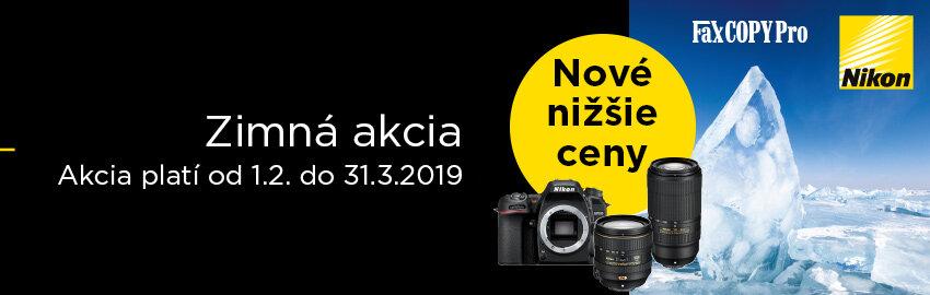 nižšie ceny Nikon