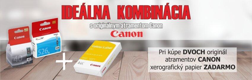 Ideálna kombinácia Canon