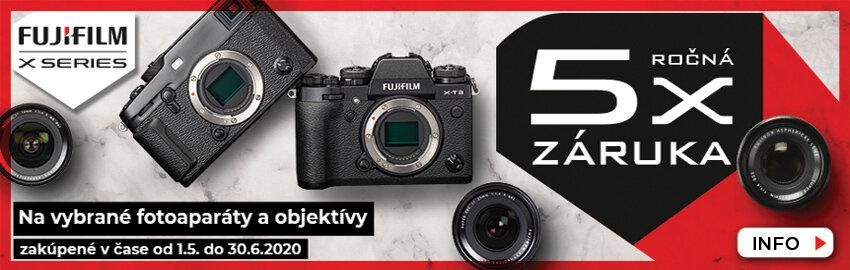 Fujifilm 5 rokov záruka