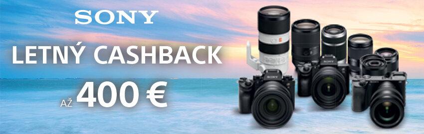 Sony cashback až 400€ späť
