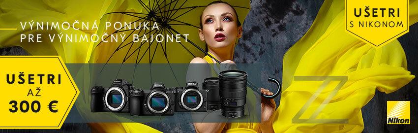 Ušetri s Nikonom