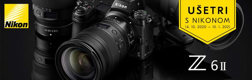 Ušetri s 300€ Nikonom Z6 II