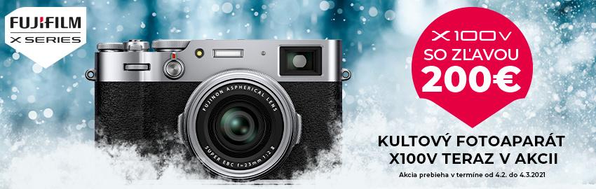 Fujifilm X100V teraz so zľavou 200€
