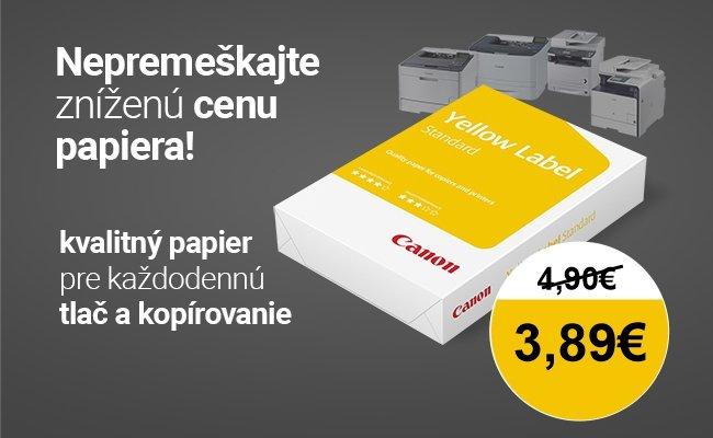 Canon papier