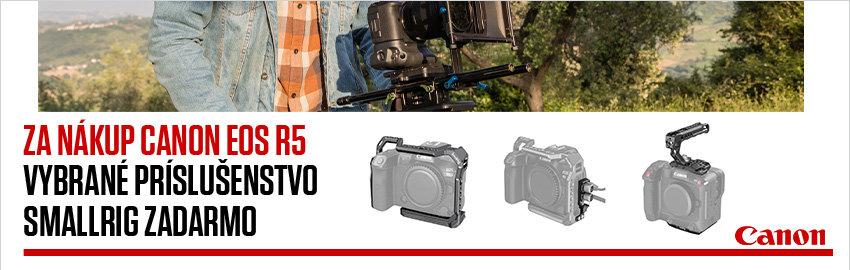 Získajte SmallRig ku Canon EOS R5 ZADARMO