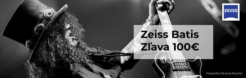 Zľava 100€ na objektívy Zeiss Batis