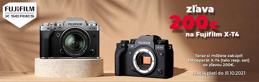 Fujifilm X-T4 teraz so zľavou 200€