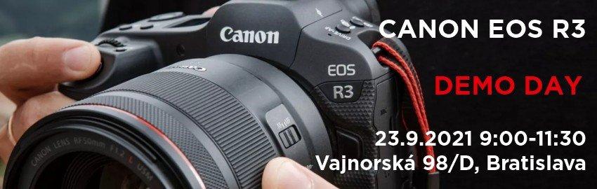 Canon EOS R3 Demo Day