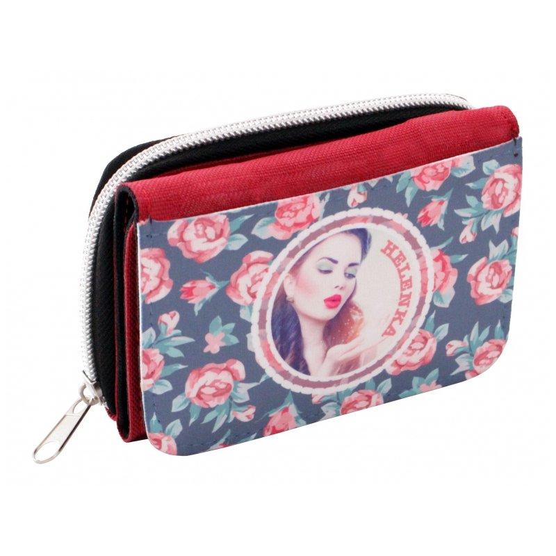 Peňaženka s vlastnou potlačou
