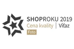 Sme víťazom ShopRoku 2019 v sekcii Foto, ďakujeme