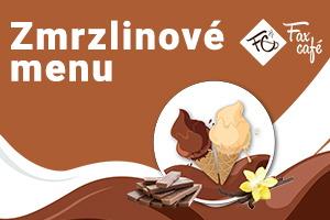 Zmrzlinové menu FaxCafé