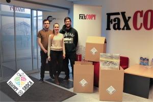 Vo FaxCOPY sme predvianočné obdobie využili na darovanie