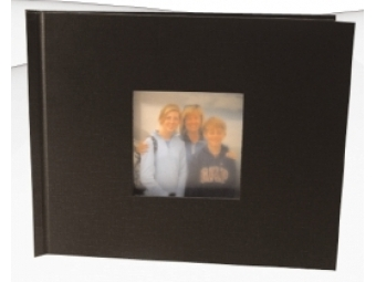 Fotokniha Unibind A4/26str. na šírku s výsekom