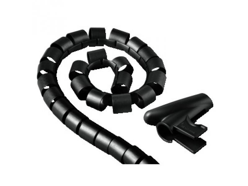 Hama 20602 špirálová trubica Easy Cover, 2,5 m, priemer 20 mm, čierna