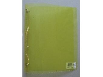 Karisblok 4-krúžkový PP žltý