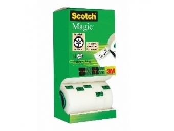 3M Scotch Magic lep.páska v krabičke 19x33m, 12+2ks zadarmo