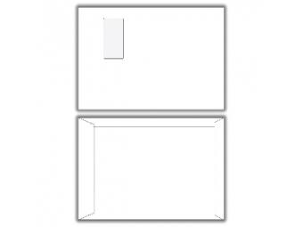 Obálka C4 s odtrhávacou páskou a okienkom biela (bal=500ks)