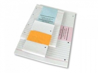 Karisblok - náhradná náplň listy A4...