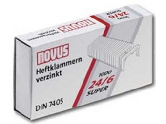 Novus Spinky zošívacie 24/6 DIN Super...