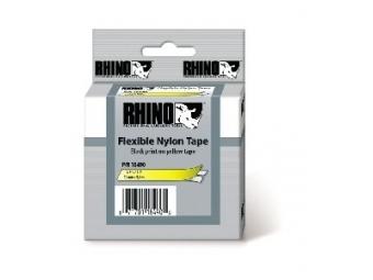 Dymo D1 Flex. nylon. páska 12mm žltá/čierna