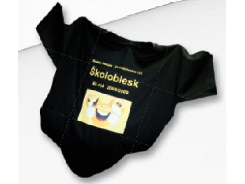 Tričko s priamou potlačou KLASIK, farebné, bavlna