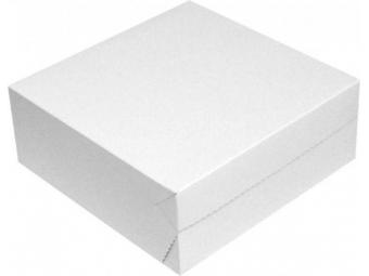 Krabica na zákusky papierová 25x25x10cm (bal=50ks)