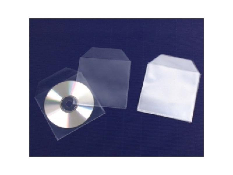 Q-Connect Obal-vrecko na CD/DVD nezávesné (bal=50ks)