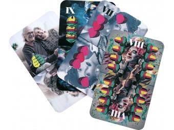 Personalizované hracie karty, sedmové...