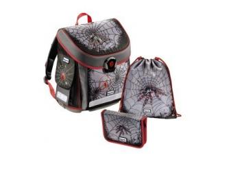 Hama 129271 Školský ruksak - 3 dielny set Baggymax CANNY Pavúk