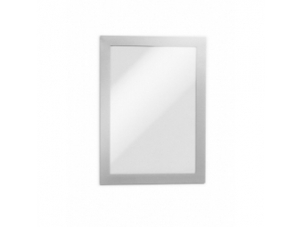 Durable Informač .panel A5 magnet. DURAFRAME MAGENTIC strieborný (bal=5ks)