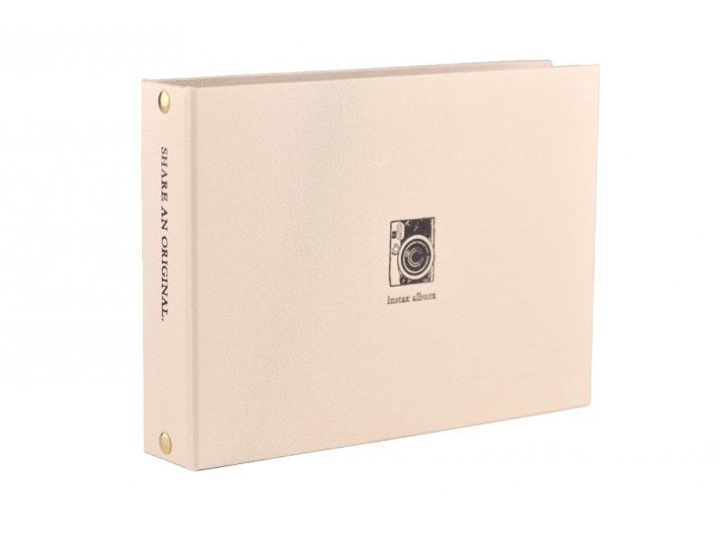 Fujifilm Instax Album mini two ring zlatý