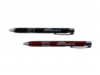 Kovové guľôčkové pero s UV potlačou