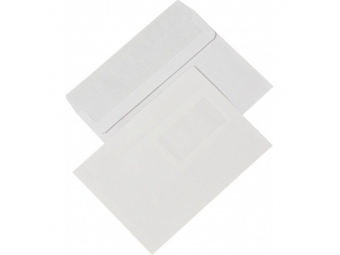 Obálka C5 s okienkom samolepiaca (bal=1000ks)