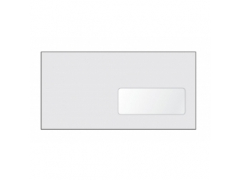 Obálka DL samolepiaca s okienkom (bal=1000ks)