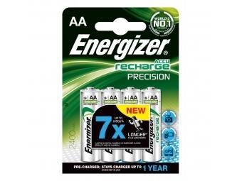 Energizer batérie dobíjateľné AA-HR6/4 2400mAh tužkové