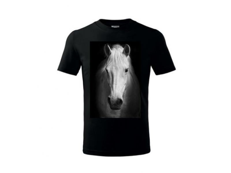 Tričko s priamou potlačou PLUS, farebné, bavlna