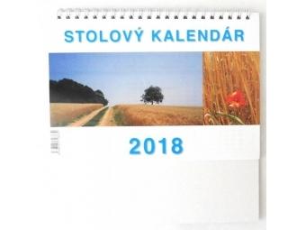 Kalendár 2018 PRACOVNÝ malý Neo stolový,týždenný,riadkový 200x140mm