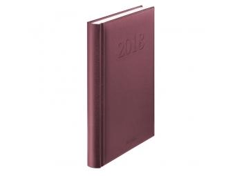Herlitz Diár 2018 A5 denný 352 str,15x21cm,bordový