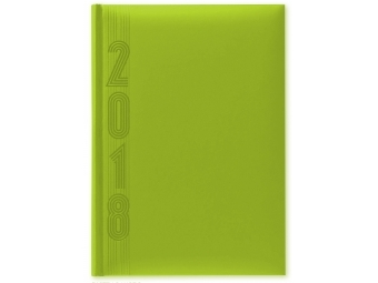 Herlitz Diár 2018 A5 denný 352 str,15x21cm, pastel.zelený
