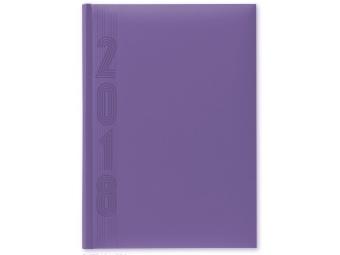 Herlitz Diár 2018 A5 denný 352 str,15x21cm, pastel.fialový