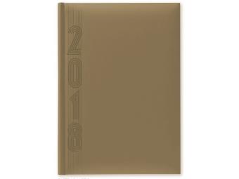 Herlitz Diár 2018 A5 denný 352 str,15x21cm, pastel.cappucino