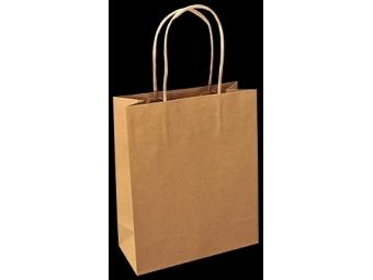 Taška papierová - hnedá, 305 x 170 x...